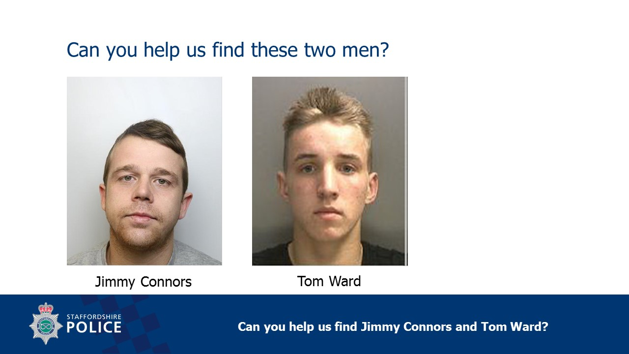 Help Police find two men in connection with murder of Arthur