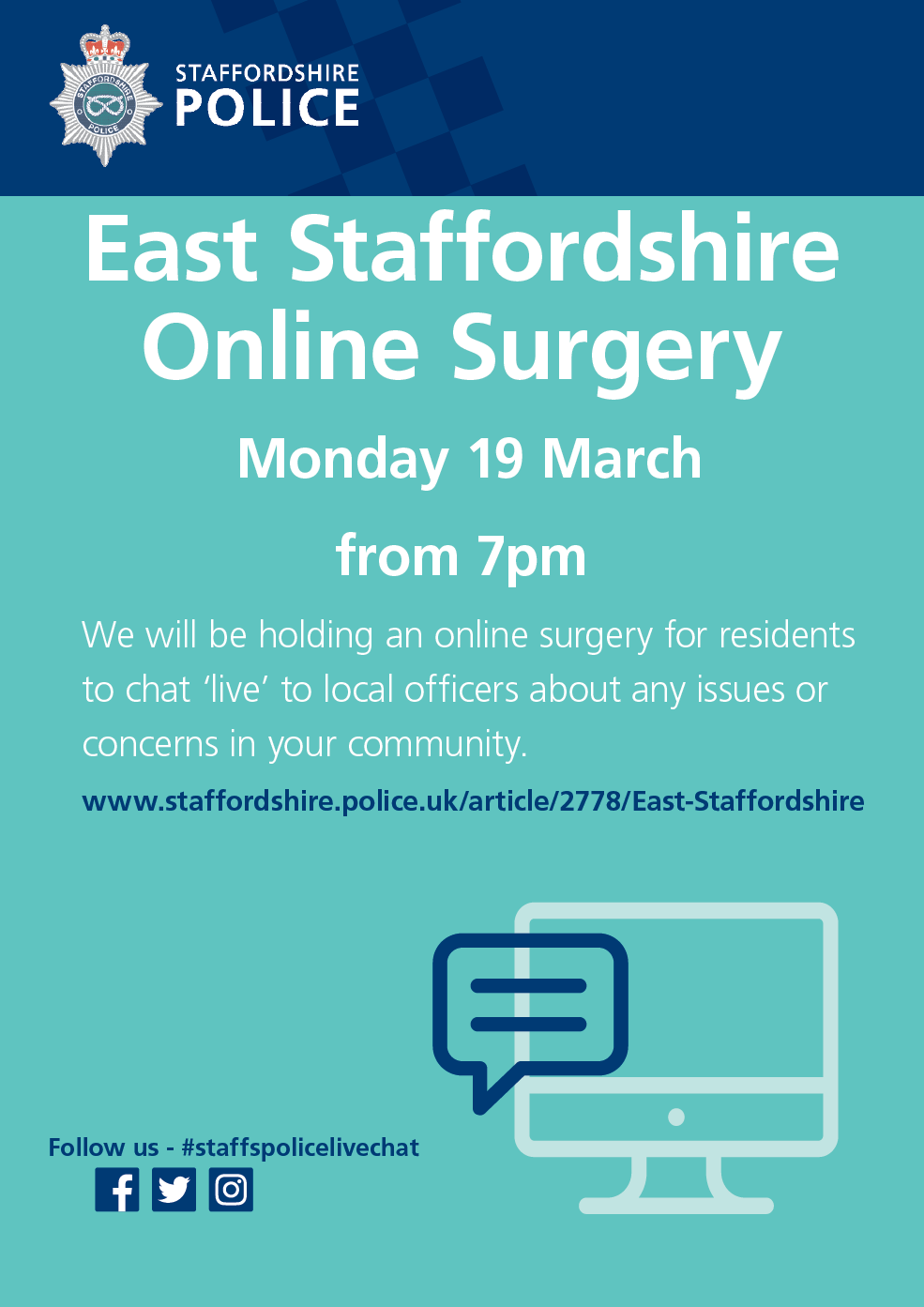 East Staffs Online Surgery Poster.png