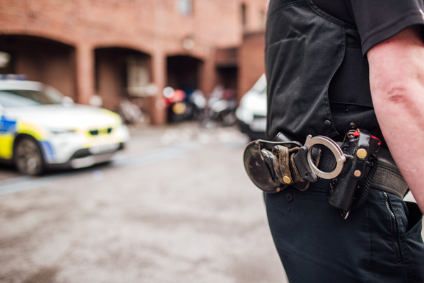 Officer Male Police Car Fleet Handcuffs Equipment Utility Belt.png