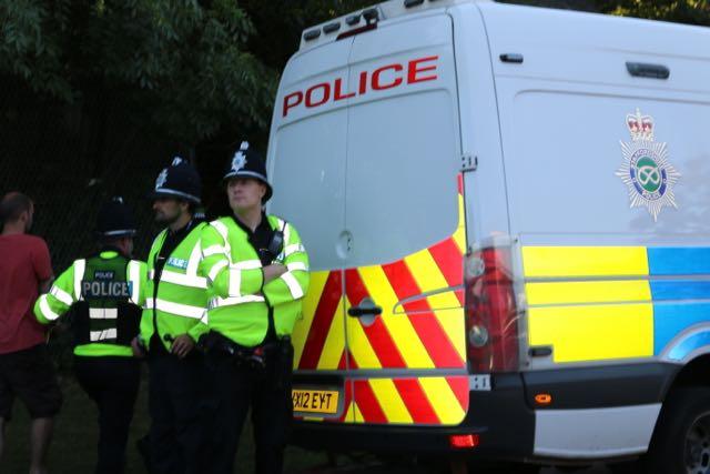 Police crest van officers helmets high vis LAND.jpg